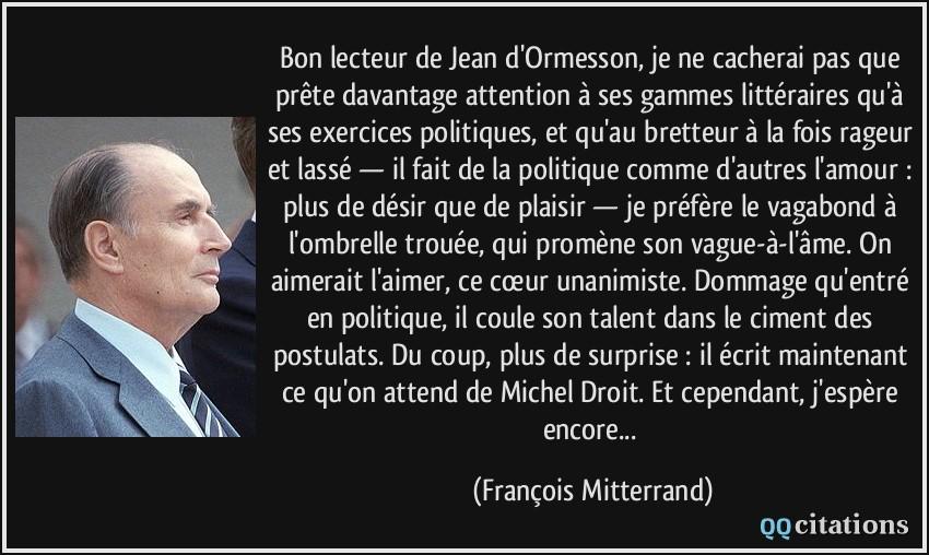 Citation Amitie Ormesson Infos Et Ressources