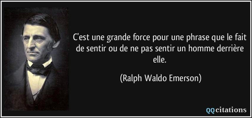 Autres citations de Ralph Waldo Emerson