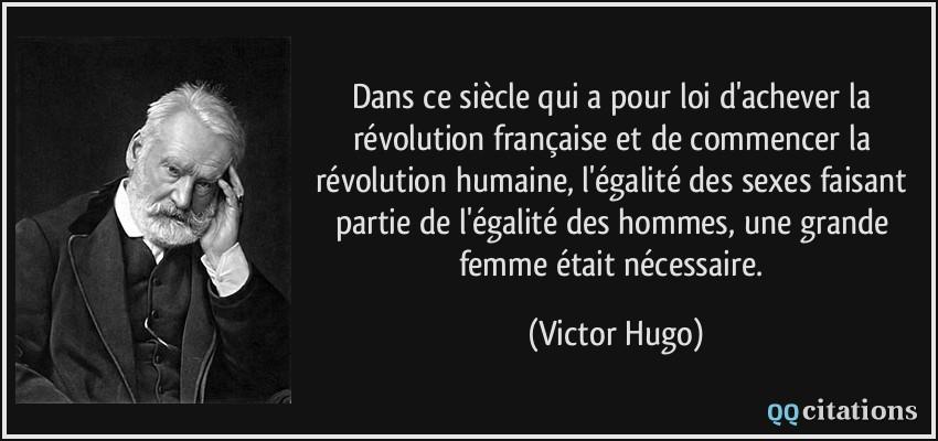 Populaire Dans ce siècle qui a pour loi d'achever la révolution française et  VT02