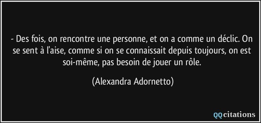 Citations, proverbes Rencontre