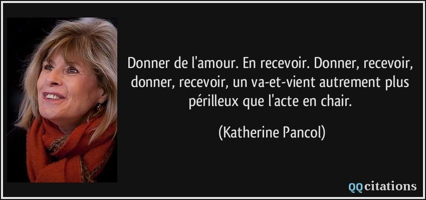 Donner De L Amour En Recevoir Donner Recevoir Donner