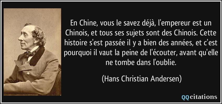5497dd4ad9c3 En Chine, vous le savez déjà, l empereur est un Chinois, et tous ses ...