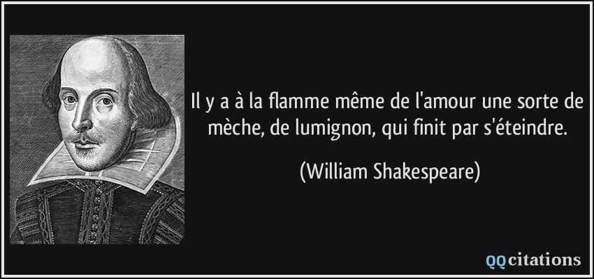 citations de shakespeare william