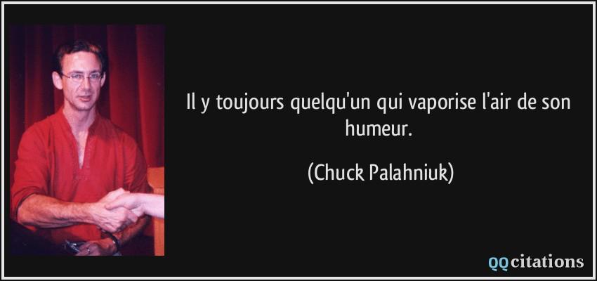 citations chuck Palahniuk