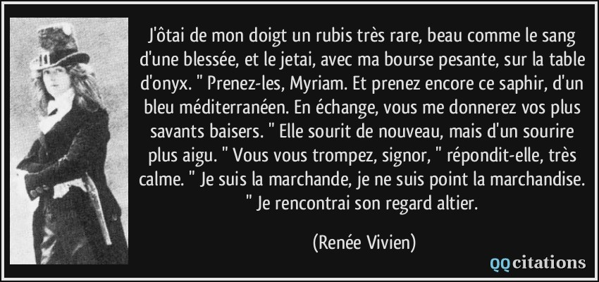 Citation la plus belle robe d'une femme