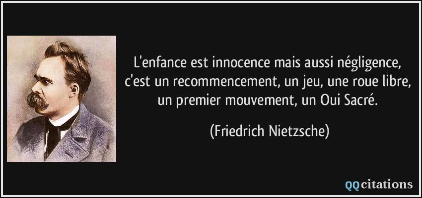 Citation Enfance Innocence