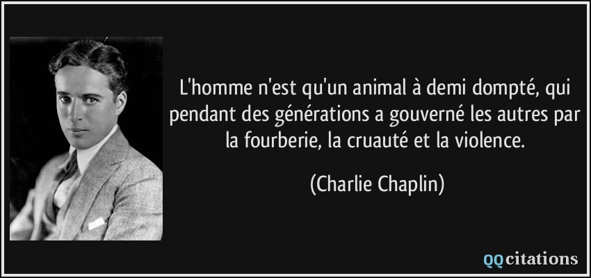 Citation L Homme