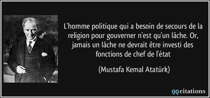 L Homme Politique Qui A Besoin De Secours De La Religion