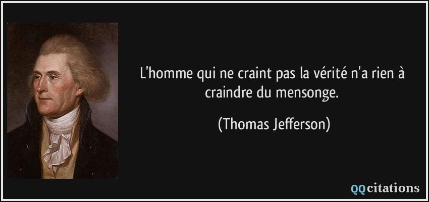 Citation Sur Le Mensonge Des Hommes