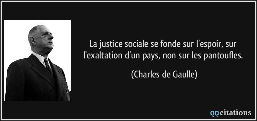 Autres citations de Charles de Gaulle