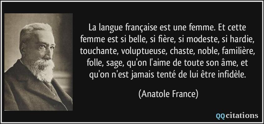 Femme de l est parlant francais
