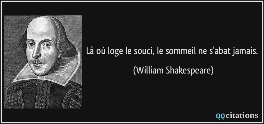 Autres citations de William Shakespeare