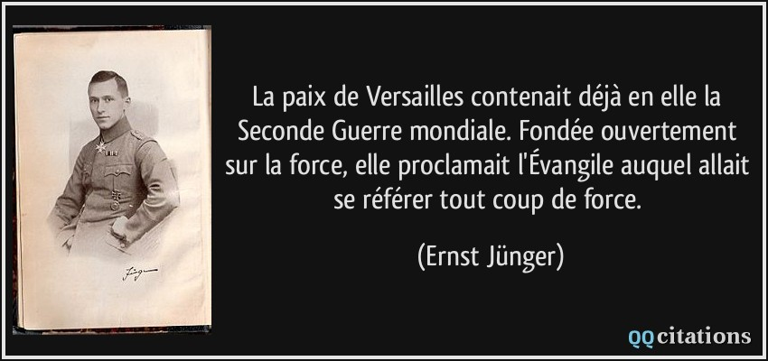 Citation 2nde Guerre Mondiale