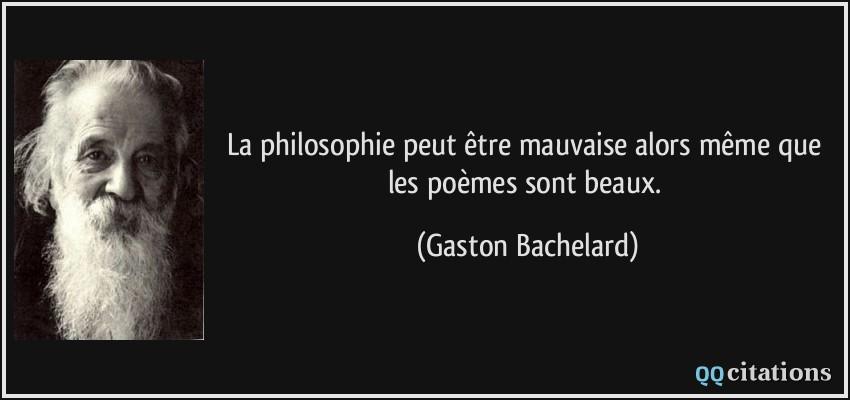 La Philosophie Peut être Mauvaise Alors Même Que Les Poèmes