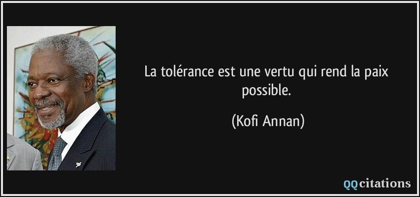 La Paix Et La Tolerance Lessons Tes Teach