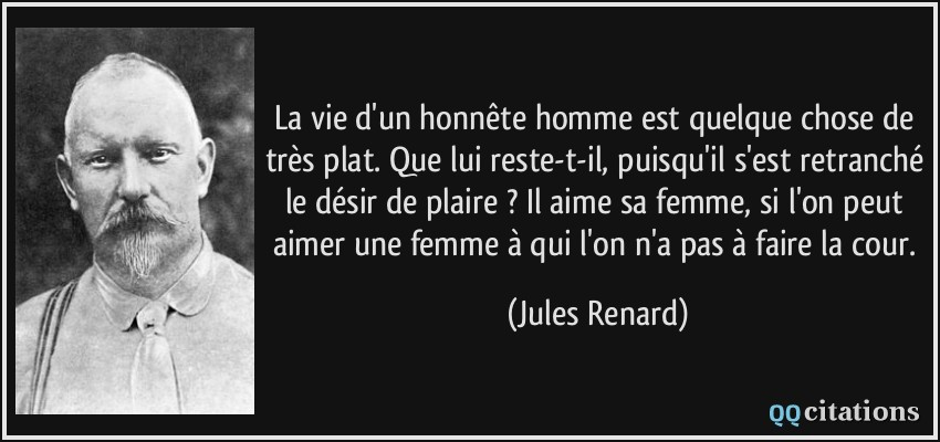 Citations Jules Renard Amour
