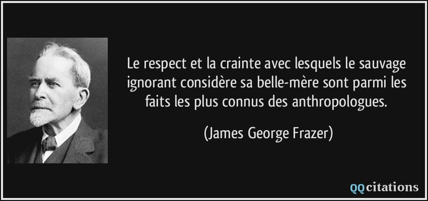 Le Respect Et La Crainte Avec Lesquels Le Sauvage Ignorant