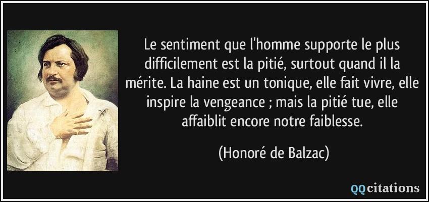 Autres citations de Honoré de Balzac