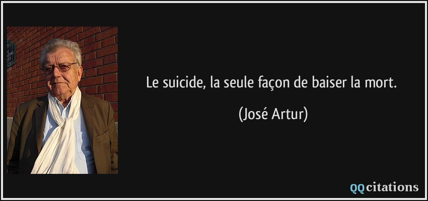citations de suicide