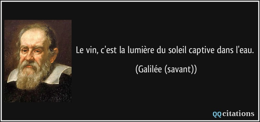 citation galilee