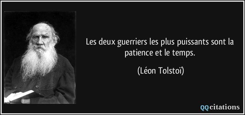 Citation Guerrier