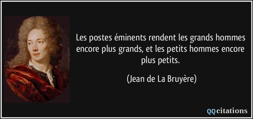 Autres citations de Jean de La Bruyère