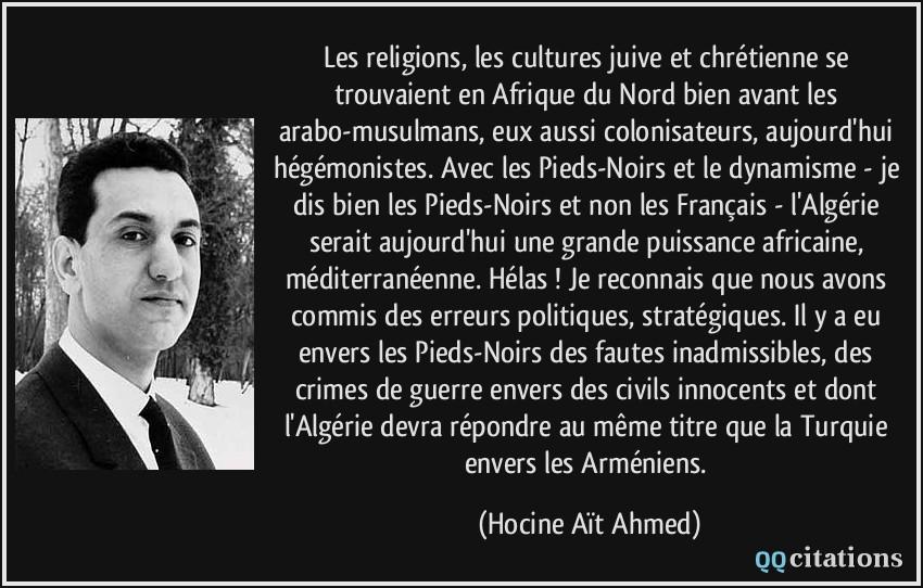 les religions les cultures juive et chr 233 tienne se trouvaient en afrique du nord bien avant les