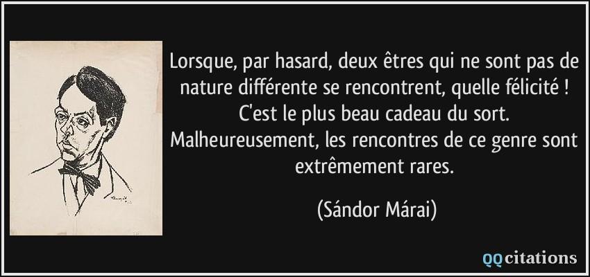 Citation Pas De Rencontre Au Hasard Gratuit | CitationMeme