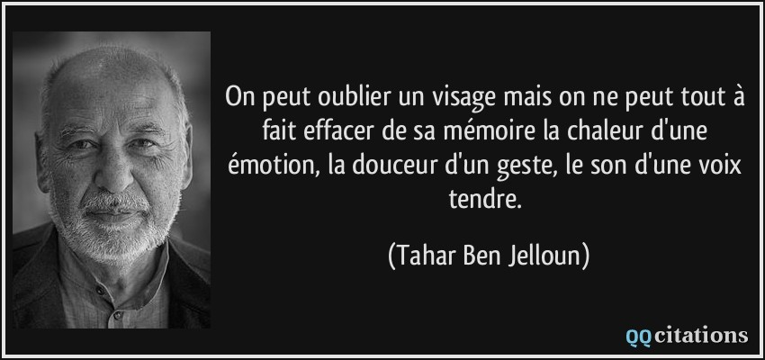 Citation de Tahar Ben Jelloun