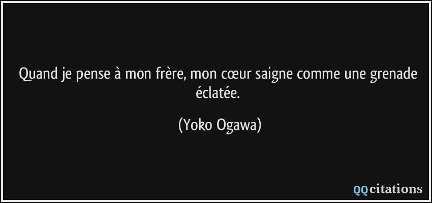 Citation Frere De Coeur