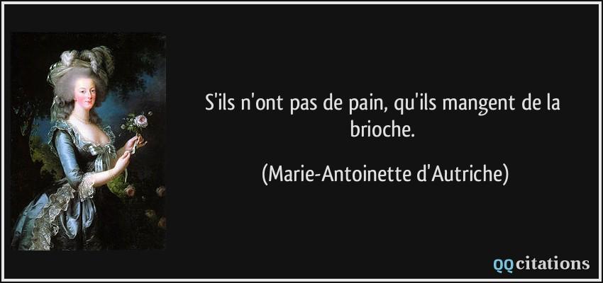 """Résultat de recherche d'images pour """"marie antoinette brioche"""""""