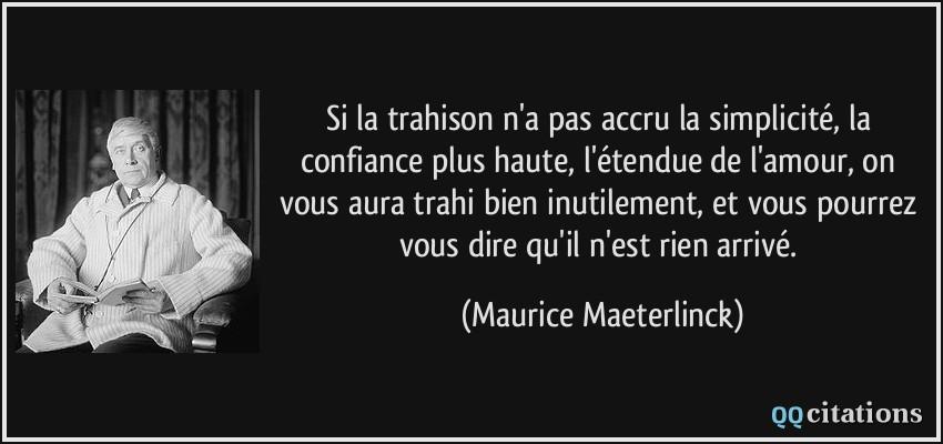 Citations Trahison Amour