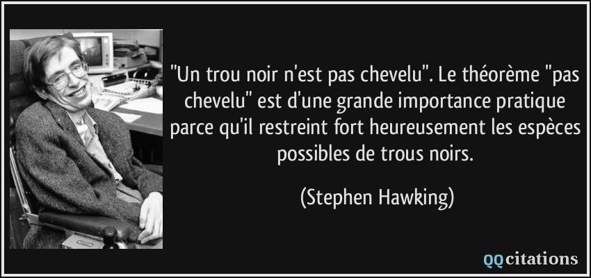 Image de Citation Trou Noir