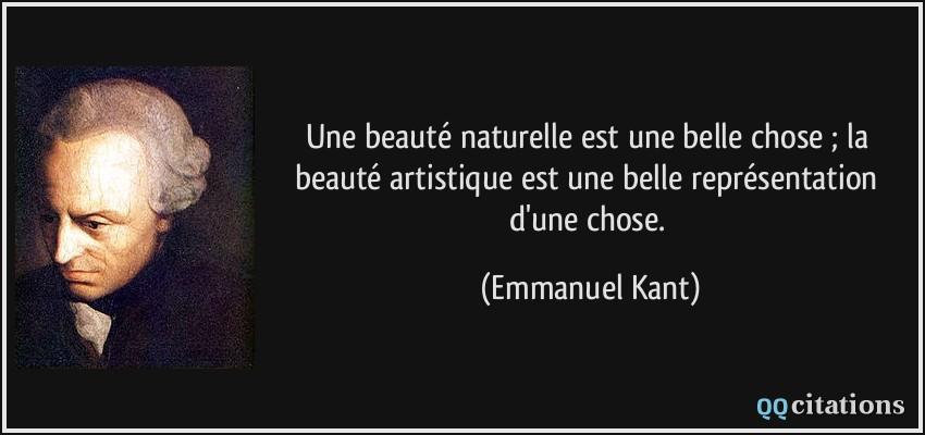 Une beauté naturelle est une belle chose ; la beauté